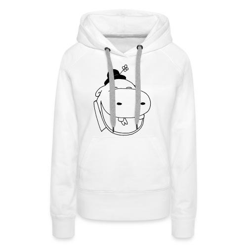 logo potame - Sweat-shirt à capuche Premium pour femmes