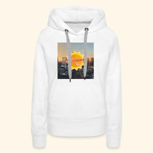 California Spirit City - Sweat-shirt à capuche Premium pour femmes