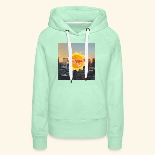 California Spirit City - Sweat-shirt à capuche Premium pour femmes