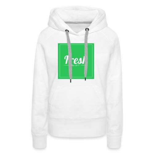 Green square - Women's Premium Hoodie