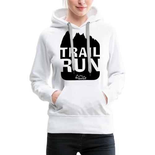 Trail Run - Frauen Premium Hoodie