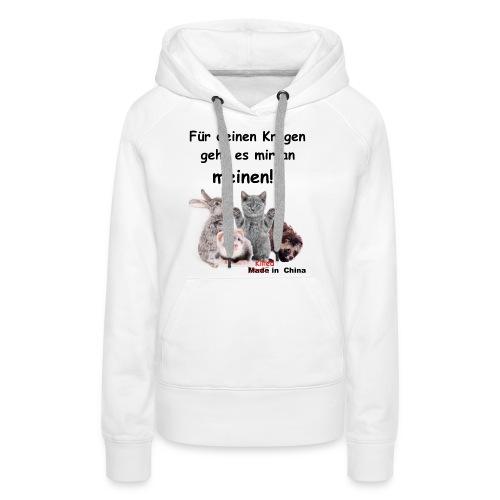 No Fur - kein Pelz! - Frauen Premium Hoodie