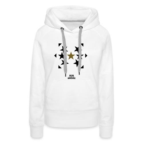 B2B Broke - Hoodie Stars 1 - Frauen Premium Hoodie