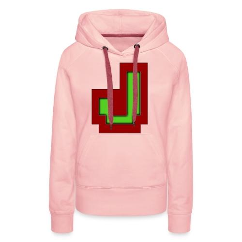 Stilrent_J - Dame Premium hættetrøje