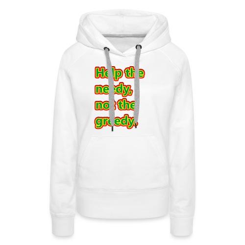 help - Women's Premium Hoodie