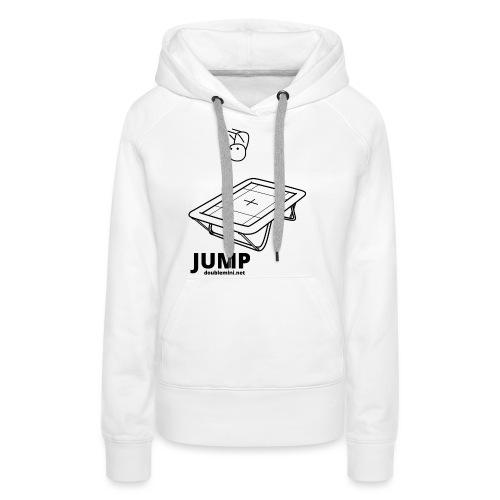 Trampoline JUMP shirt white - Women's Premium Hoodie