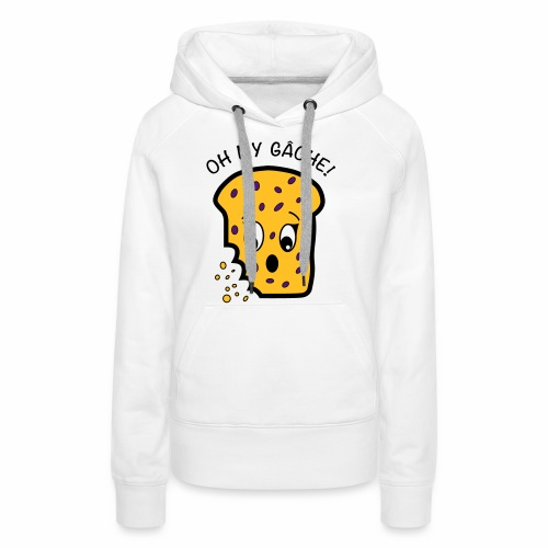 Oh My Gâche! Guernsey Mother's Day Design - Women's Premium Hoodie