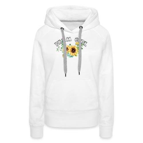 Farm Girl - Women's Premium Hoodie