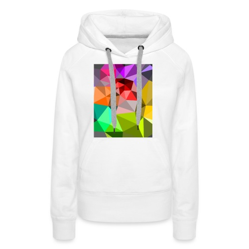 Bunte Dreiecke - Frauen Premium Hoodie
