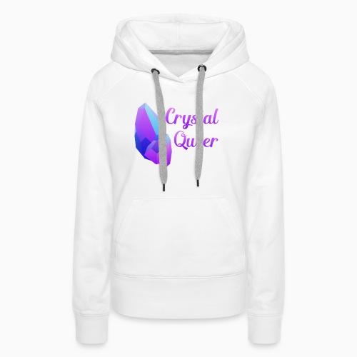 Crystal Queer - Women's Premium Hoodie