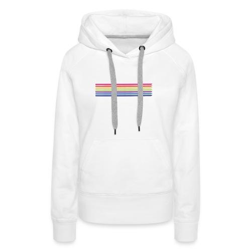 Colored lines - Women's Premium Hoodie