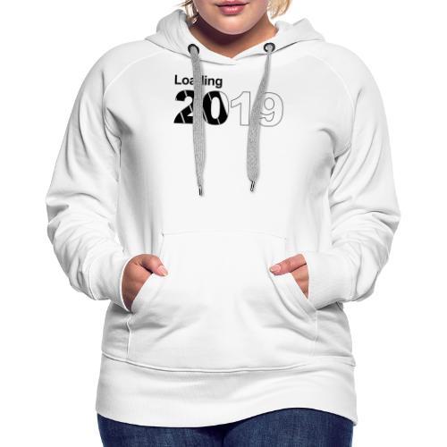 2019 - Sudadera con capucha premium para mujer