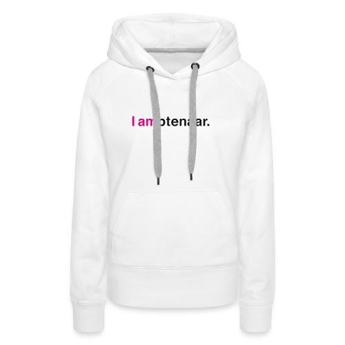 I ambtenaar - Vrouwen Premium hoodie