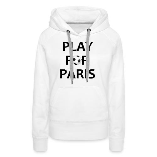 Football Shirt Play for Paris retro - Women's Premium Hoodie