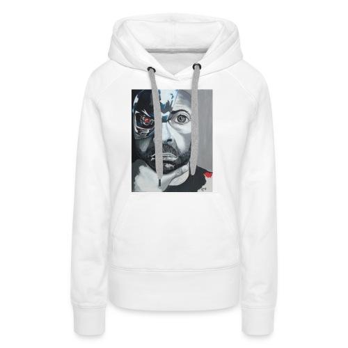 Terminamen1 - Sweat-shirt à capuche Premium pour femmes