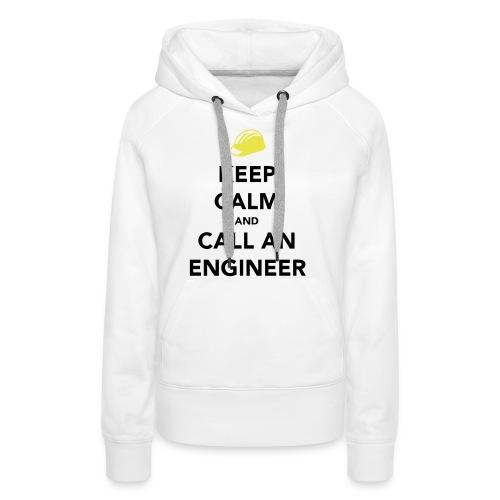 Keep Calm Engineer - Women's Premium Hoodie