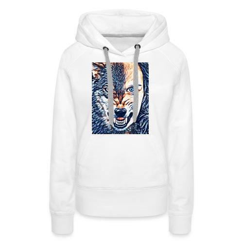 Wolfsrudel - Frauen Premium Hoodie