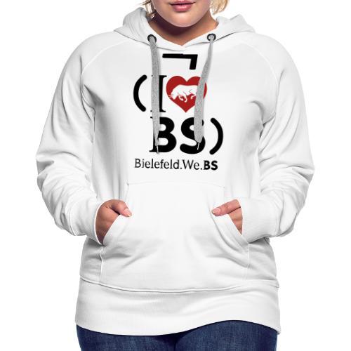 I don't love BS - Women's Premium Hoodie