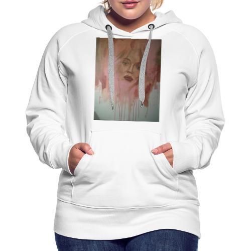 Donna 3 - Felpa con cappuccio premium da donna