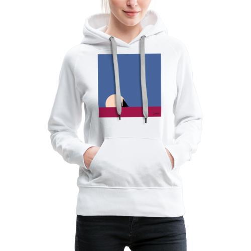 Oh mon bateau ! - Sweat-shirt à capuche Premium pour femmes