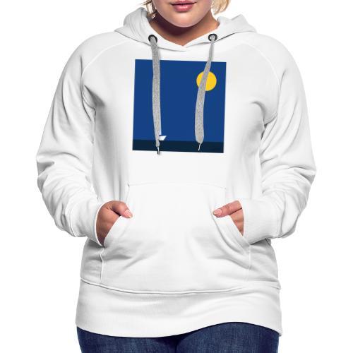 voile - Sweat-shirt à capuche Premium pour femmes