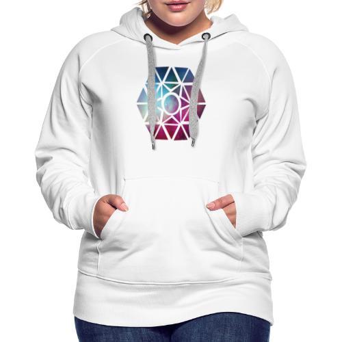 diseño de figuras - Sudadera con capucha premium para mujer