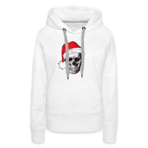 weihnachten-skull Weihnachtsmann - Frauen Premium Hoodie
