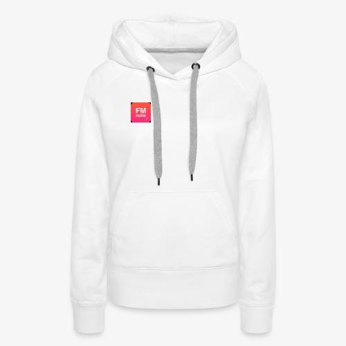 logo radiofm93 - Vrouwen Premium hoodie