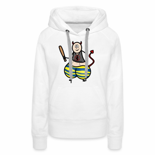 Devil No Touchies Charlie - Women's Premium Hoodie