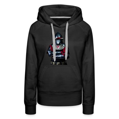 chevalier.png - Sweat-shirt à capuche Premium pour femmes
