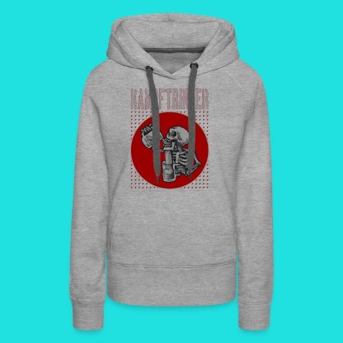 Kampftrinker - Frauen Premium Hoodie