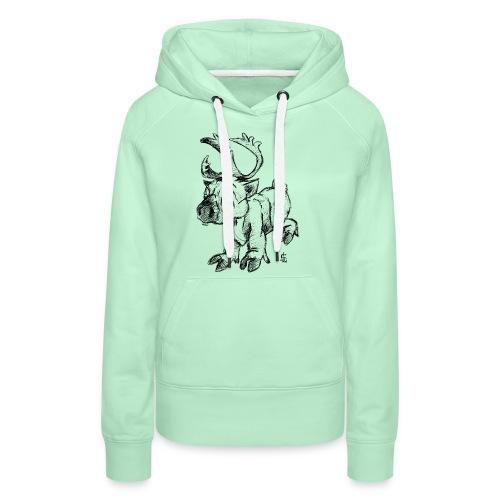 Caribou - Sweat-shirt à capuche Premium pour femmes