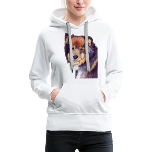 finnish lapphund - Dame Premium hættetrøje