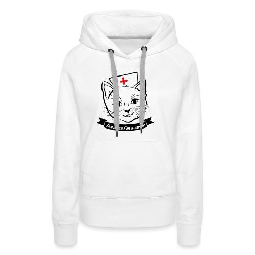 KrankenSisters Katze JK - Frauen Premium Hoodie