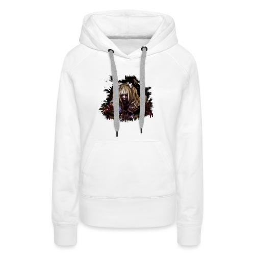Zombie Mia - Frauen Premium Hoodie
