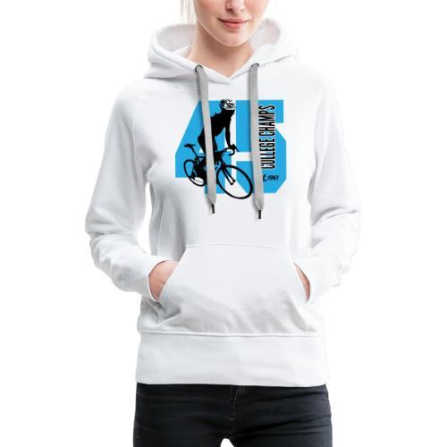 Wielersport - Vrouwen Premium hoodie