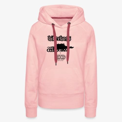 horsebiker - Sweat-shirt à capuche Premium pour femmes