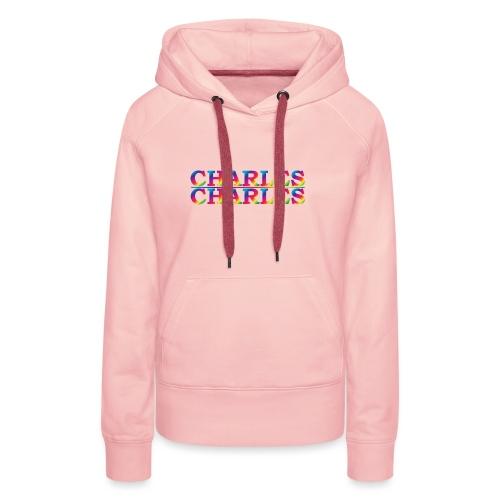 CHARLES rainbow - Women's Premium Hoodie