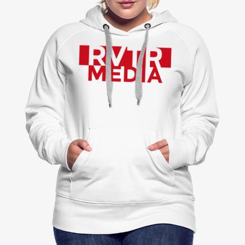 RVTR media red - Frauen Premium Hoodie