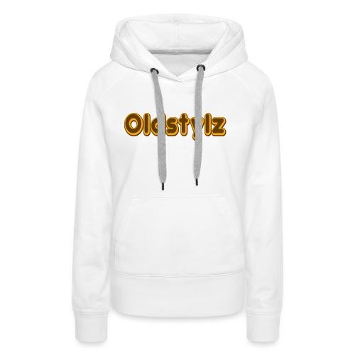 Oldstylz Original - Sweat-shirt à capuche Premium pour femmes