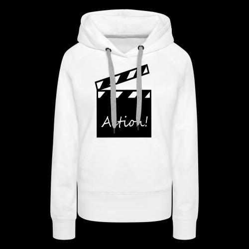 Kapuzen-Shirt aaand Action! - Frauen Premium Hoodie
