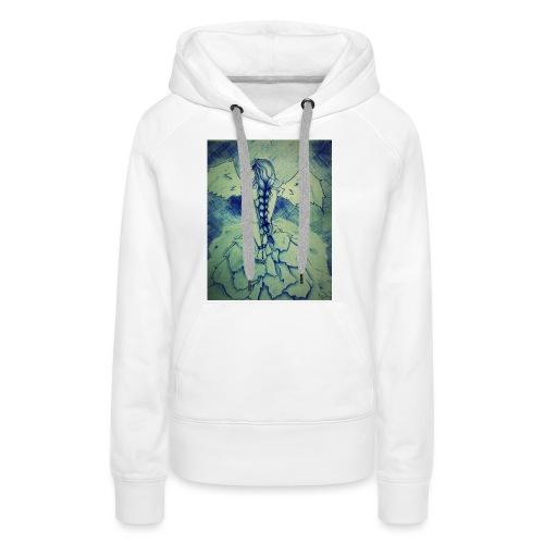 angel - Sudadera con capucha premium para mujer