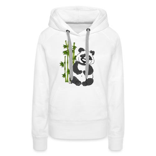 Panda Pao Pao - Frauen Premium Hoodie