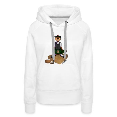 Pimp my Nuki - Égossais - Sweat-shirt à capuche Premium pour femmes