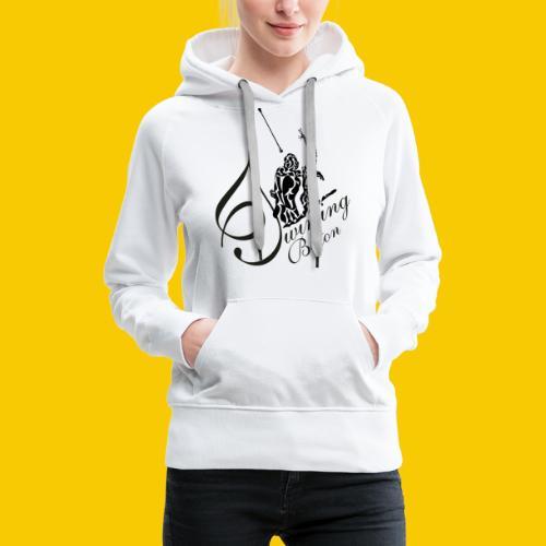 twirling b 2 - Sweat-shirt à capuche Premium pour femmes
