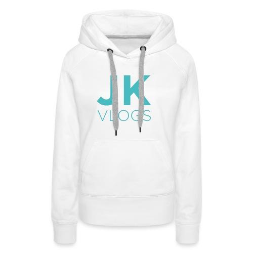 JK Vlogs Logo - Women's Premium Hoodie