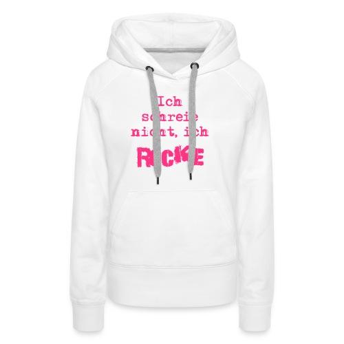 ich rocke - Frauen Premium Hoodie