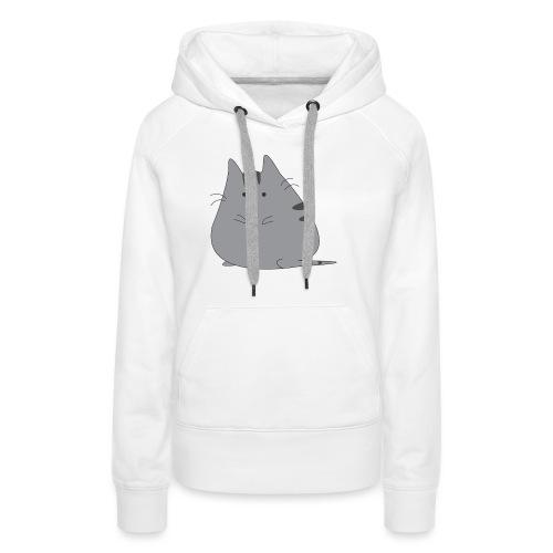 CATO le chat tee shirt - Sweat-shirt à capuche Premium pour femmes