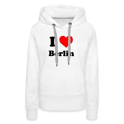 love berlin - Frauen Premium Hoodie