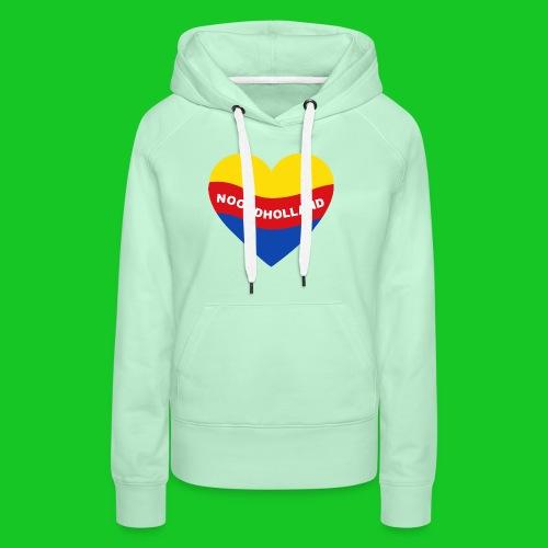 Love Noord Holland Hart.png - Vrouwen Premium hoodie